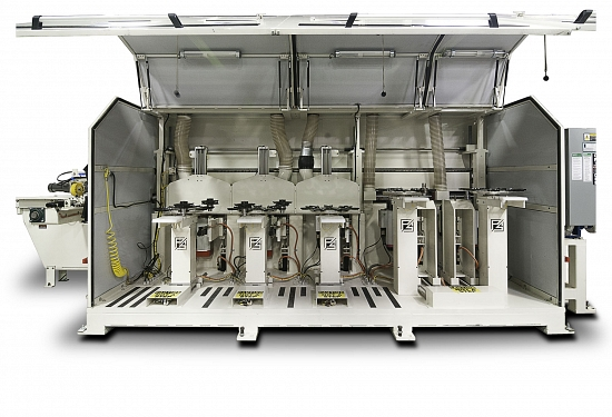 image for Five Station Single End Tenoner With Auto Tool Changers - P5 TC SET